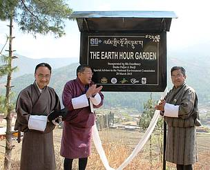 Earth Hour Garden