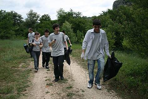 WWF's National Day of the Nature Parks, Rusenski Lom, Bulgaria, 23 May 2009 rel=