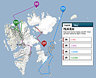 Svalbard polar bear tracker