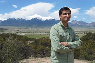 Pranav Chanchani of India, WWF PBS recipient 2015