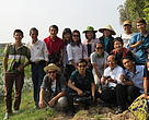 Press trip to Tram Chim National Park, Vietnam.
