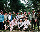 The Quang Nam FPD Primate Team with Trainers