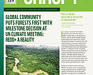 Cover: CANOPY issue 1, 2014 -- WWF global Forest and Climate Programme