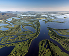Pantanal wetland - one of the world's largest tropical wetland