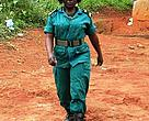 "Ranger Mary Ashu has earned the nickname ""Firebrand"""