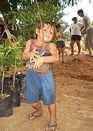 Reforestation, Paraguay  	© Cinthya Arias for WWF Paraguay