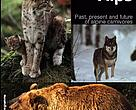 Return to the Alps, cover page of report on the return of large carnivores to the Alps region