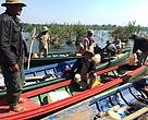River guards patrol in Kratie