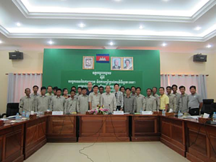 River Guards and WWF-Cambodia staff at March 2014 Navigation Training.