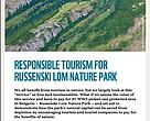 Responsible tourism for Russenski Lom Nature Park