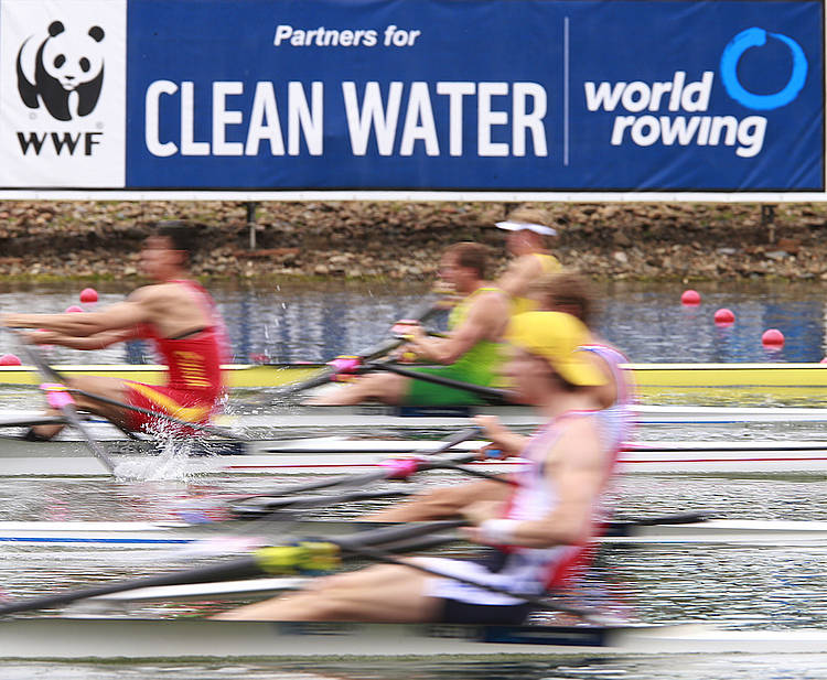 On course for cleaner water: WWF and World Rowing extend partnership to 2024