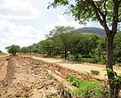 New road under construction through Ruvuma Landscape, Tanzania.
