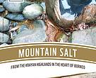 Mountain salt, krayan highlands, heart of borneo, hob, wwf indonesia, north kalimantan