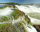 Salto Augusto falls in the Juruena River (state of Mato Grosso), Brazil
