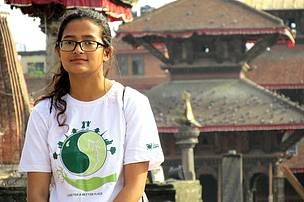 Saraswoti Byanjankar of Nepal, WWF PBS recipient 2015