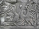 Sarus Cranes appear on the bas-reliefs of the Bayon Temple at Angkor Wat, carved more than 600 ... / ©: WWF