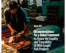 Recommendations for a global framework to ensure legality and traceability of wild-caught fish products