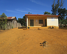 Our home: the WWF office in Doany (the primary school in just behind the house on the left).