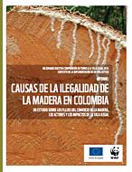 Portada: causas de la ilegalidad de la madera en Colombia ©WWF Colombia