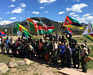 African rangers at the World Ranger Congress in Colorado, USA