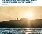 Cover of paper on Context-Based Water Targets