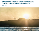 Exploring the case for Context-Based Water Targets