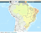 High resolution water risk data for Brazil