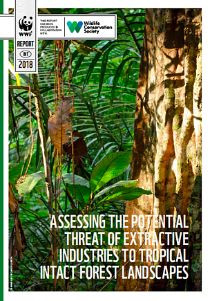 Report: Assessing the potential threat of extractive industries to tropical intact forest landscapes