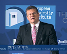 European Commission Vice-President Šefčovič addresses State of Union conference, May 2018