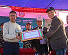 The government of Nepal felicitated WWF Nepal for its support to biodiversity conservation at the sixth CBAPU Day.