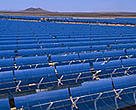 Solar 2 in the Mojave Desert is the world's largest solar power facility.