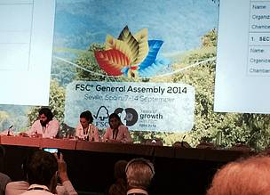 Speakers at the FSC General Assembly 2014