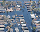 Increased climate impacts - like flooding - affects millions of people every year.