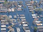 Increased climate impacts - like flooding - affects millions of people every year.  © Lieut. Cmdr Mark Moran, NOAA Corps, NMAO - AOC