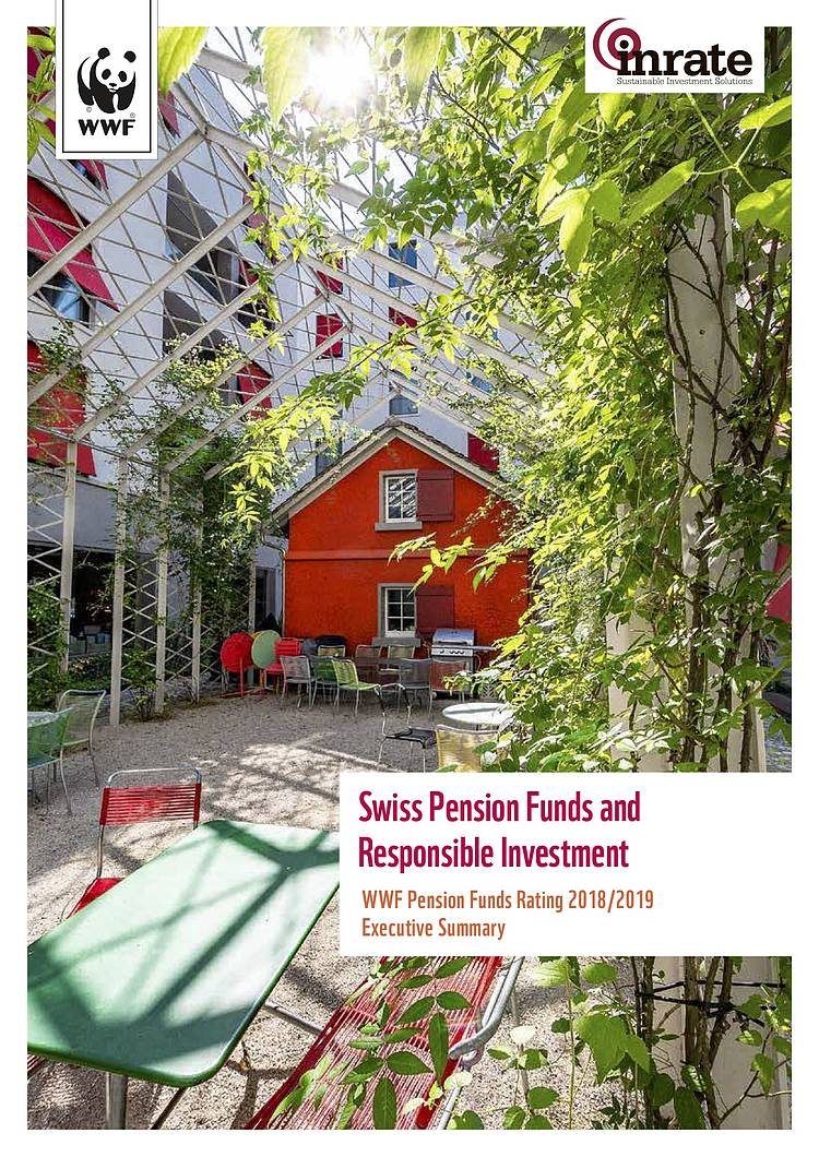 Swiss Pension Funds and Responsible Investment - WWF 2018/2019 Rating