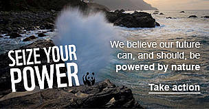Sign the pledge - Seize Your Power  	© WWF