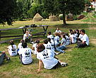 "Children at a ""green"" camp learn about important environmental issues."