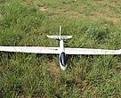 The Conservation Drone is two meters wide and is equipped with cameras and GPS