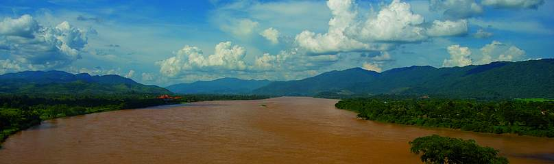 The Mekong River.  	© WWF