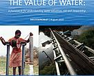 Cover of The Value of Water: A framework for understanding water valuation, risk and stewardship