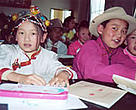 Local Tibetan children will be major beneficiaries of improved teaching practices taught by the Shangri-la Community College.