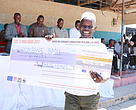 Pombwe BMU leader with a dummy check for  best pernamnce 2017
