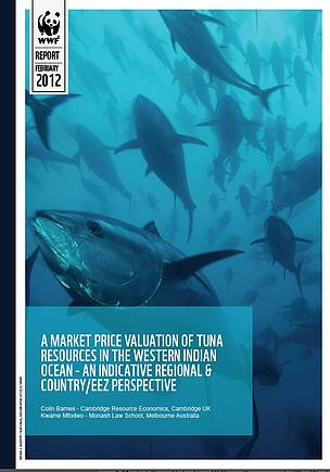 A Market Price Valuation Of Tuna Resources In The Western Indian Ocean - An Indicative Regional & Country/Eez Perspective
