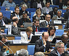 Negotiators at the UN Climate Talks