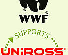 As part of the partnership, Uniross rechargeable batteries and chargers will carry the WWF logo.