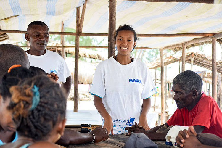 Vatosoa successfully carries the voices of 500,000 Malagasy fishers