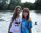 Volunteers during the 2014 Living Danube Tour in Croatia