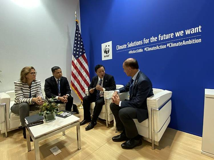 WWF and the Ministry of Natural Resources and Environment strengthen partnership at COP25