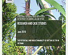 Cover for Vietnam Country Assessment: the Potentials and Unsustainability of Rattan Sector in Vietnam