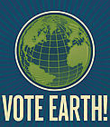 Vote Earth!  	© WWF